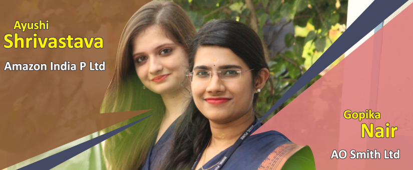 PGDM Students placed through campus Placement 2016-18