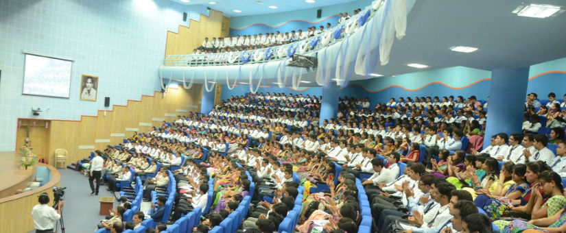 auditorium for pgdm students at sri balaji society pune